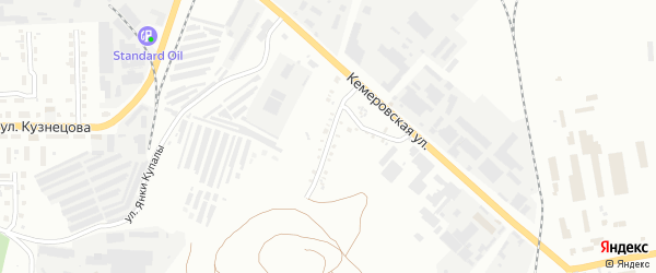 Гортоповская 2-я улица на карте Копейска с номерами домов