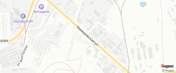 Кемеровская улица на карте Копейска с номерами домов