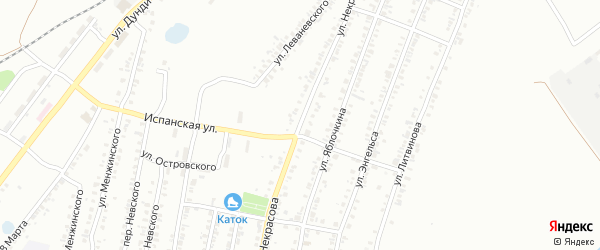 Улица Некрасова на карте Копейска с номерами домов