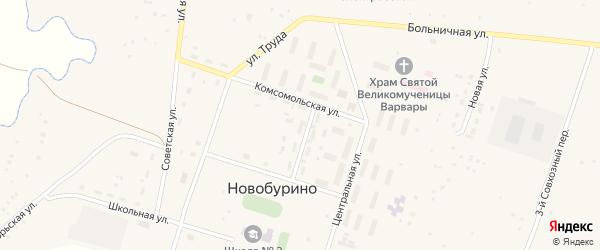 Молодежная улица на карте поселка Разъезда 2 с номерами домов