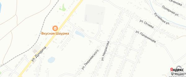 Жигулевская улица на карте Копейска с номерами домов