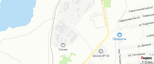 Улица Гаага на карте Копейска с номерами домов