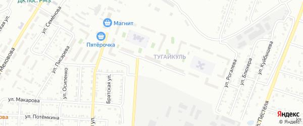 Улица Короленко на карте Копейска с номерами домов