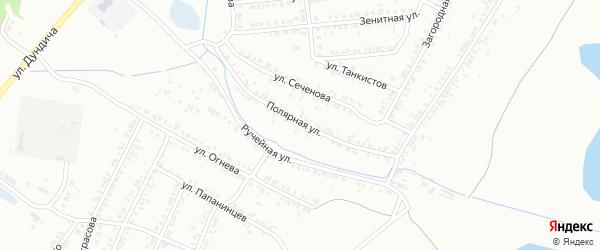 Полярная улица на карте Копейска с номерами домов