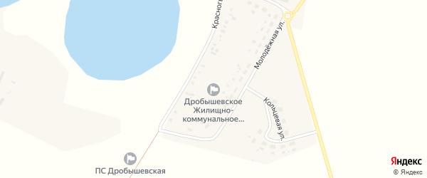 Красногвардейская улица на карте села Дробышево с номерами домов