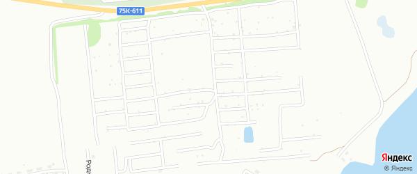 СНТ Коммунальщик на карте Копейска с номерами домов