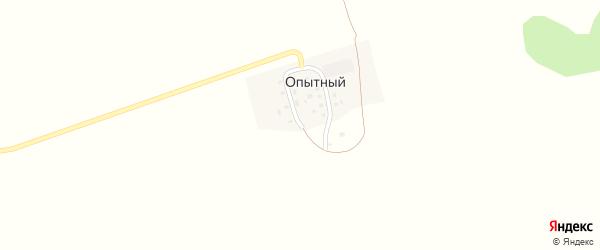 Окружная улица на карте Опытного поселка с номерами домов