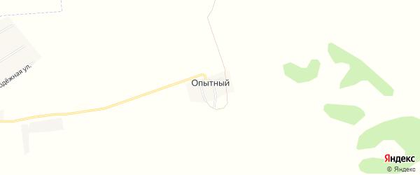 Карта Опытного поселка в Челябинской области с улицами и номерами домов