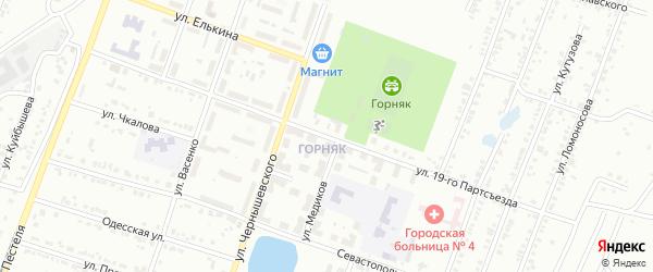 Улица 26 Партсъезда на карте Копейска с номерами домов