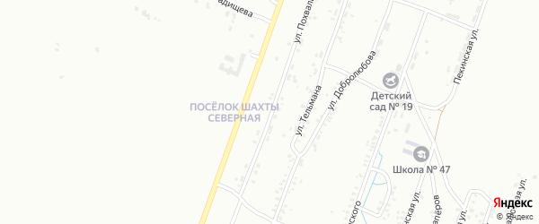 Улица Похвалина на карте Копейска с номерами домов