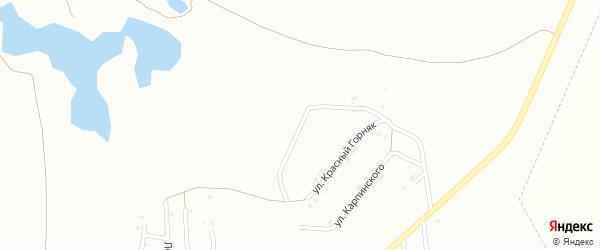 Ялтинская улица на карте Копейска с номерами домов