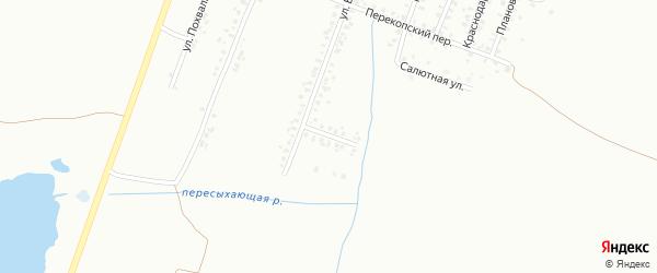Переулок Белинского на карте Копейска с номерами домов