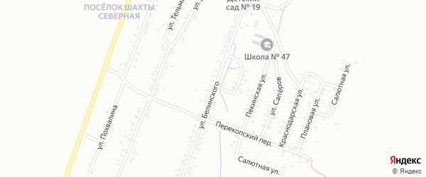 Улица Белинского на карте Копейска с номерами домов