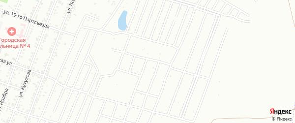 СНТ Красная Горнячка на карте Копейска с номерами домов