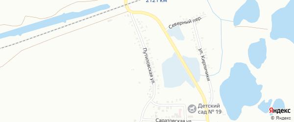 Путиловская улица на карте Копейска с номерами домов