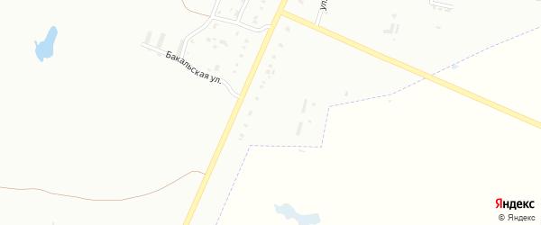 Улица Успенского на карте Копейска с номерами домов