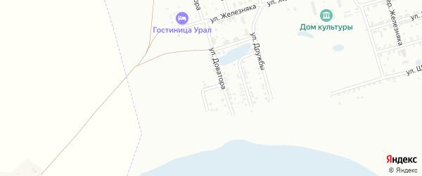 Улица Коперника на карте Копейска с номерами домов