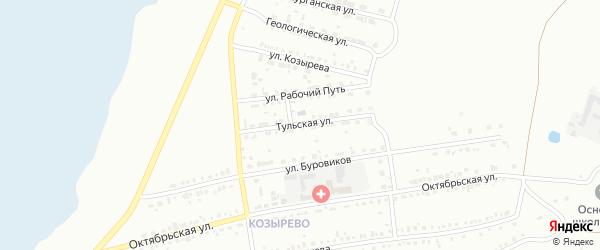 Еткульская улица на карте Копейска с номерами домов