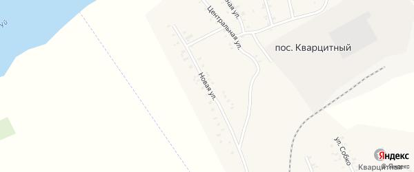 Новая улица на карте Кварцитного поселка с номерами домов