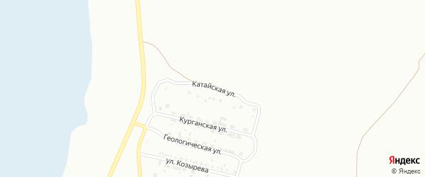 Катайская улица на карте Копейска с номерами домов