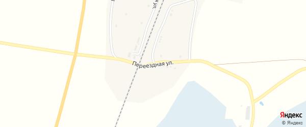 Переездная улица на карте станции Тахталыма с номерами домов