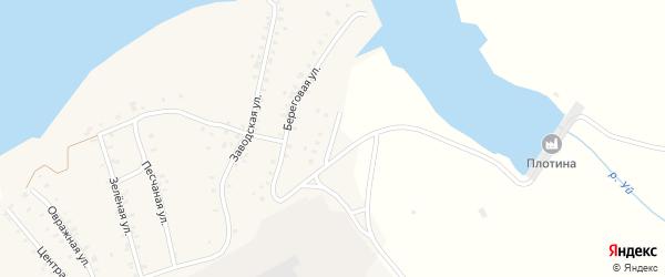 Солнечная улица на карте Кварцитного поселка с номерами домов