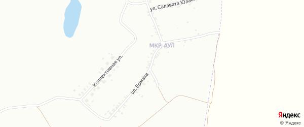 Улица Ермака на карте Копейска с номерами домов