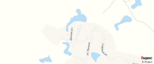 Восточная улица на карте поселка Березово с номерами домов