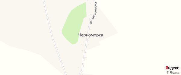 Улица Черноморка на карте поселка Черноморки с номерами домов