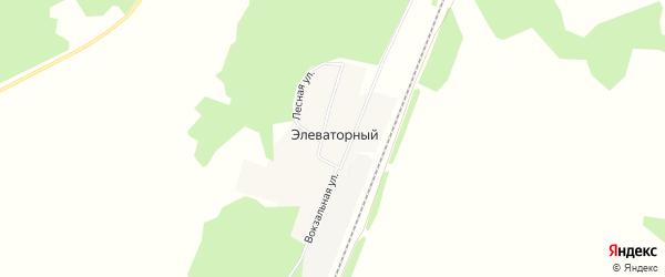 Карта Элеваторного поселка в Челябинской области с улицами и номерами домов