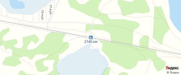 Карта разъезда 2140 км в Челябинской области с улицами и номерами домов