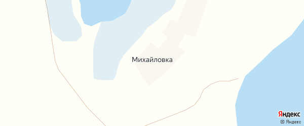 Ягодная улица на карте деревни Михайловки с номерами домов