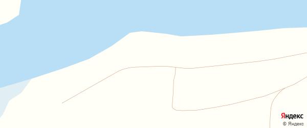Центральная улица на карте деревни Штанного с номерами домов