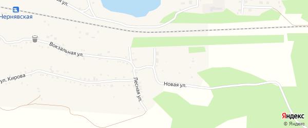 Новая улица на карте села Канашево с номерами домов