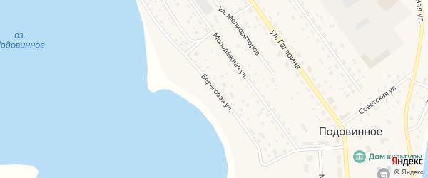 Береговая улица на карте деревни Александровка Никольского СП с номерами домов