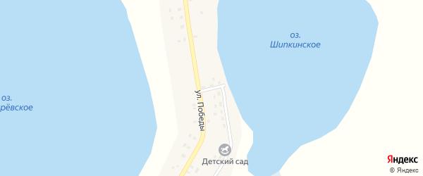 Улица 8 Марта на карте деревни Шипкино с номерами домов