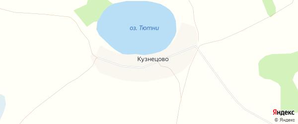 Карта деревни Кузнецово в Челябинской области с улицами и номерами домов