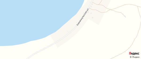 Каманкульская улица на карте деревни Каманкуля с номерами домов