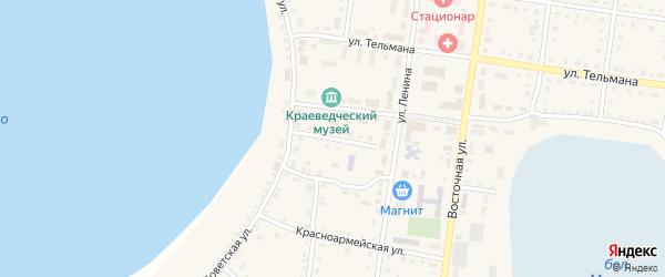 Улица Спартака на карте Октябрьского села с номерами домов