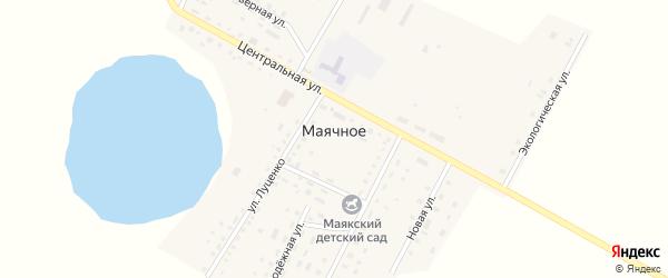 Новая улица на карте Маячного села с номерами домов