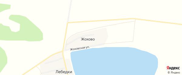 Карта деревни Жохово в Челябинской области с улицами и номерами домов