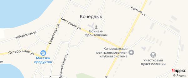 Улица Подстанция на карте села Кочердыка с номерами домов