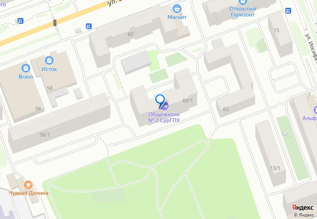 улица 30 лет Победы, 60 1 на карте Сургута, организации, фото подробно f146be90718