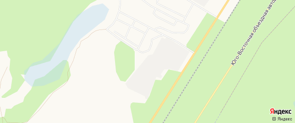 Карта поселка МК-102 города Ноябрьска в Ямало-ненецком автономном округе с улицами и номерами домов