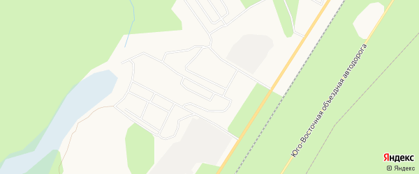 Карта поселка МК-87 города Ноябрьска в Ямало-ненецком автономном округе с улицами и номерами домов