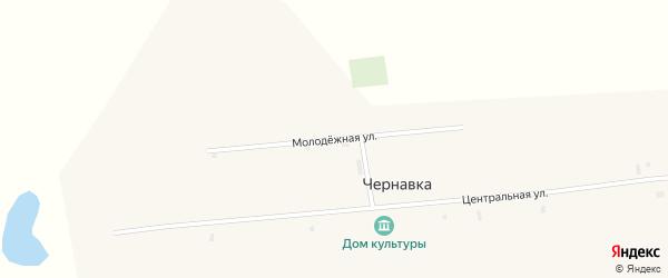 Молодежная улица на карте села Чернавки с номерами домов