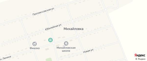 Новая улица на карте села Михайловки с номерами домов