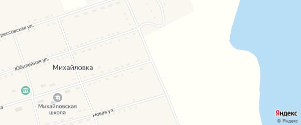 Улица Соцгородок на карте села Михайловки с номерами домов