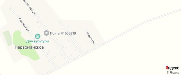 Новая улица на карте Первомайского села с номерами домов