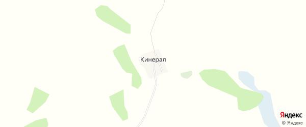 Карта села Кинерал в Алтайском крае с улицами и номерами домов